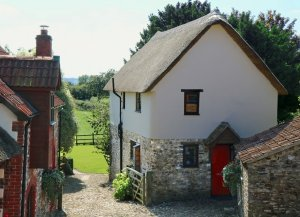The Cider Barn, 1 of 6 self-catering cottages at Red Doors Farm in Devon, England has 2 bedrooms, 2 bathrooms and sleeps 5.  - Devon, Non US or Canada, England
